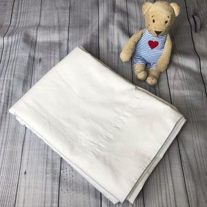 Mainstays White Twin Size Flat Sheet